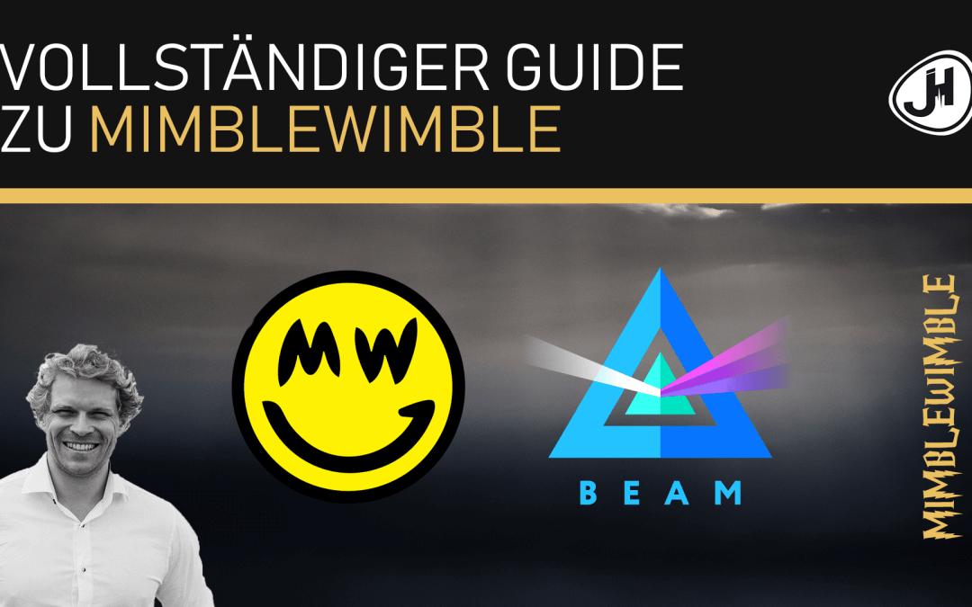 Julian Hosp's Vollständiger Guide zu Mimblewimble (Investieren Ja/Nein? Beam vs. Grin? Uvm.)