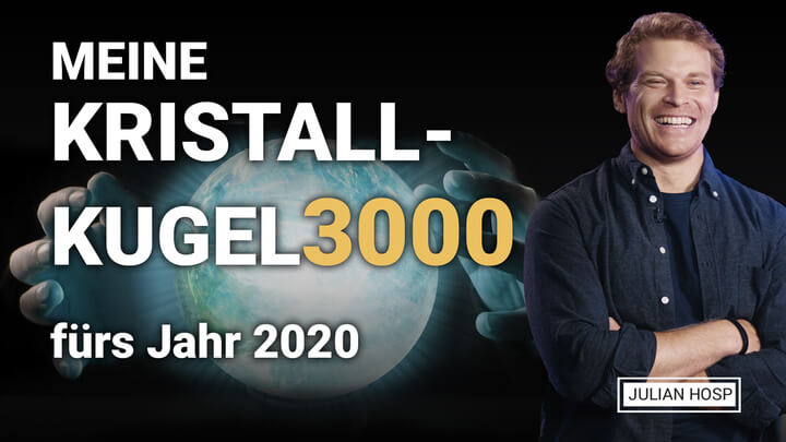 BITCOIN & ALTCOIN GLASKUGEL 3000