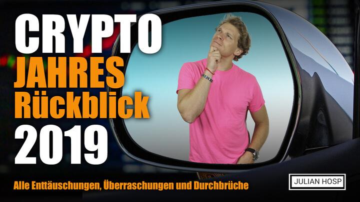 Crypto Jahres Rückblick 2019