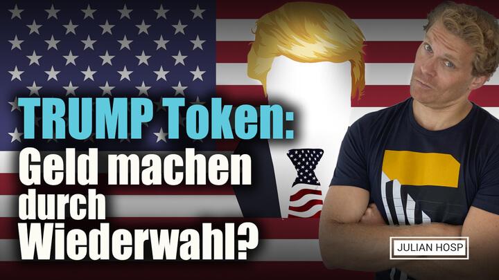 TRUMP TOKEN: GELD MACHEN DURCH WIEDERWAHL?