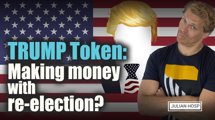 TRUMP Token: Making money with re-election?