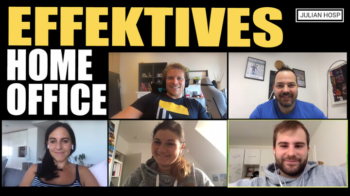 EFFEKTIVES HOME OFFICE ARBEITEN: MEINE 7 TIPPS
