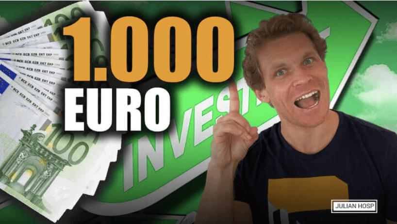 Was mit 1000€ auf dem Bankkonto anstellen?