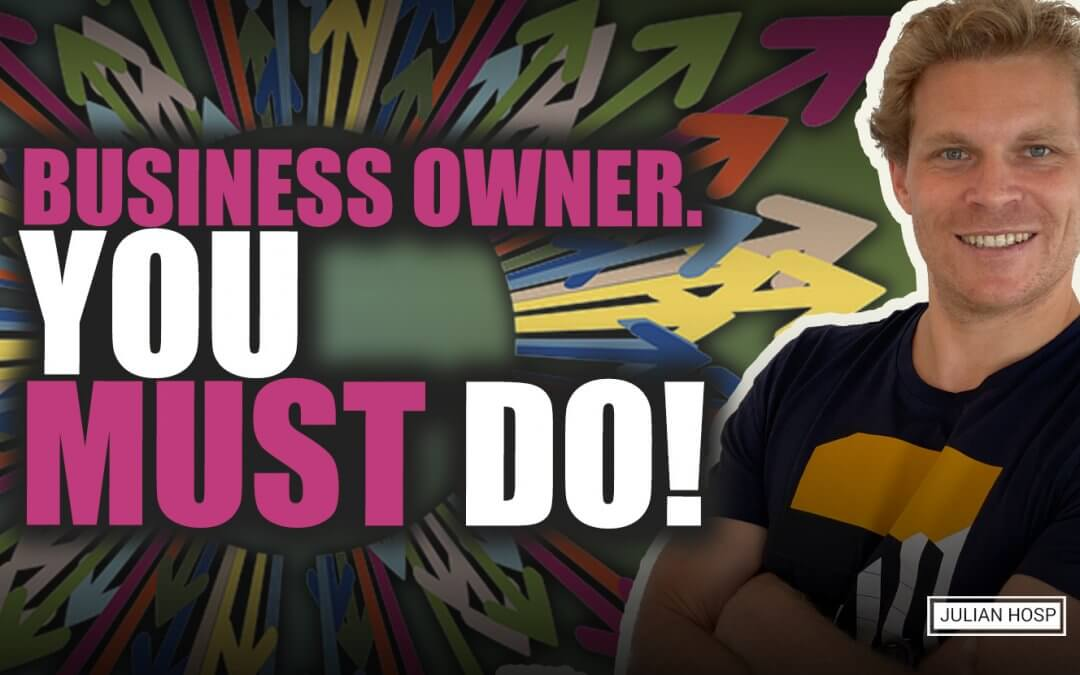5 things you have to do as a Business Owner in this crisis right now!