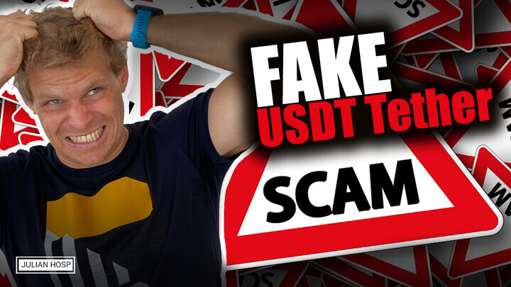 Unbelievable fake USDT Tether scams (WATCH OUT!)