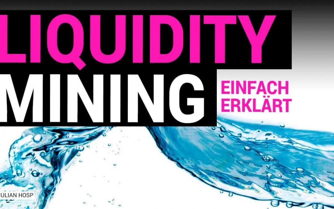 Liquidity Mining, Risiken und Tauschfunktion auf einer DEX erklärt