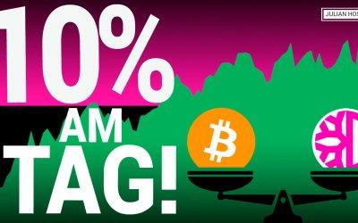 10% pro Tag mit Arbitrage Möglichkeiten bei Automated Market Makern (AMM)