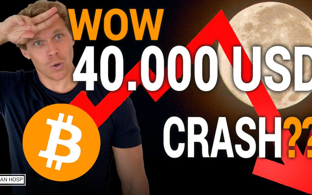 WOW! BITCOIN 40.000 USD ALL TIME HIGH!!! WHEN CRASH???