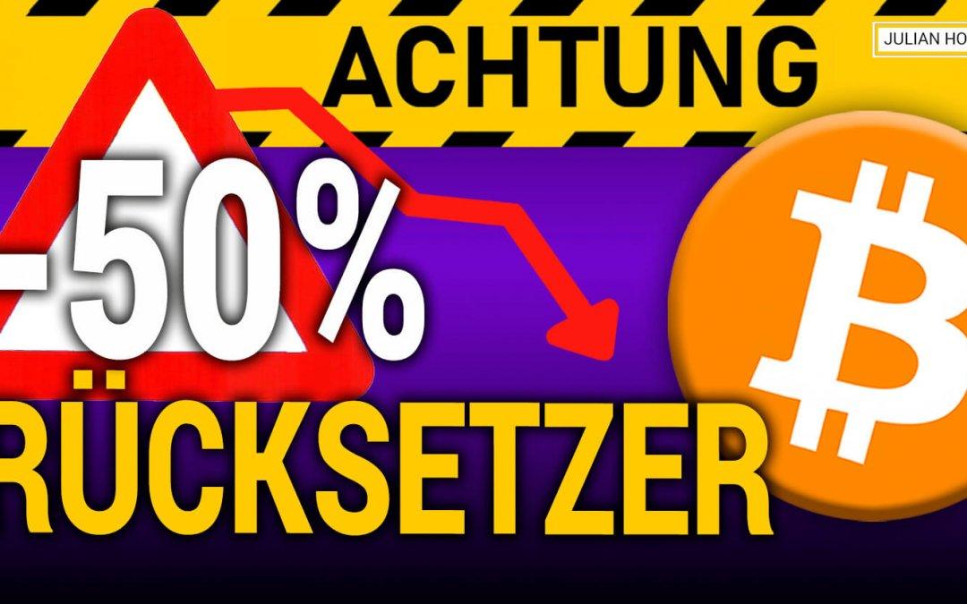 ACHTUNG: Jetzt 20% Rücksetzer oder 50% Korrektur??