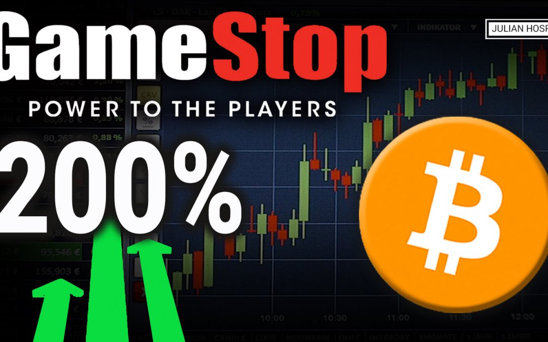Crazy GameStop Stock Pump:  What Bitcoin Investors can learn from this story