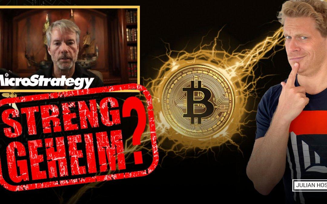 MicroStrategy Bitcoin Konferenz für S&P500 CEOs: Was bedeutet es für Bitcoin?