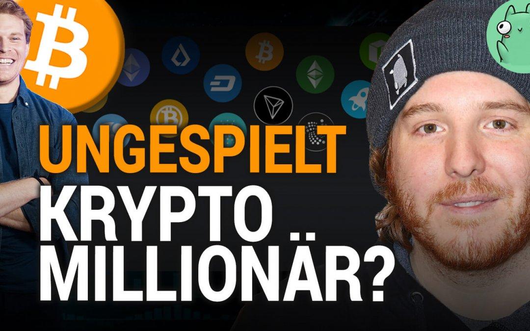 Gaming YouTuber mit 1 Mio in Krypto im Talk