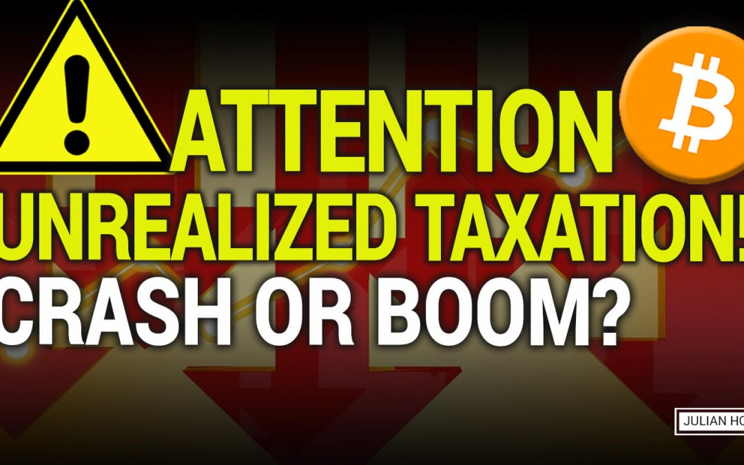 Could Bitcoin crash because of an unrealized gain tax?