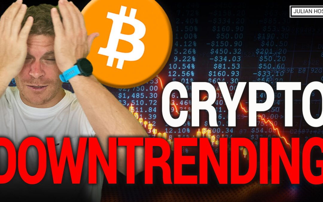 BREAKING: Bitcoin & Crypto Downtrending!