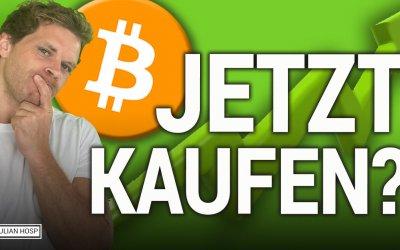 Bitcoin PUMP! Jetzt Bodenbildung Kaufen?!