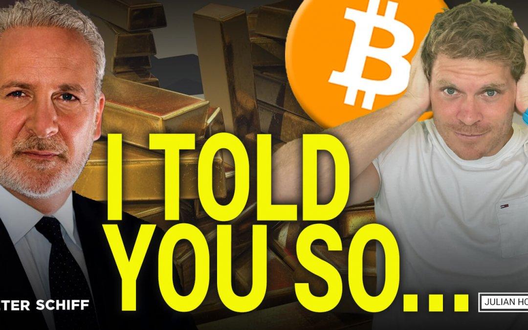 WATCH OUT! Bitcoin can very well go to ZERO! Peter Schiff & Julian Hosp