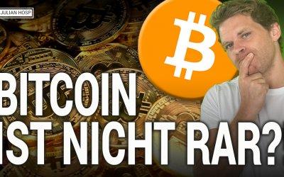 Nichts einzigartig bei Bitcoin?! Mein bestes Gegenargument!
