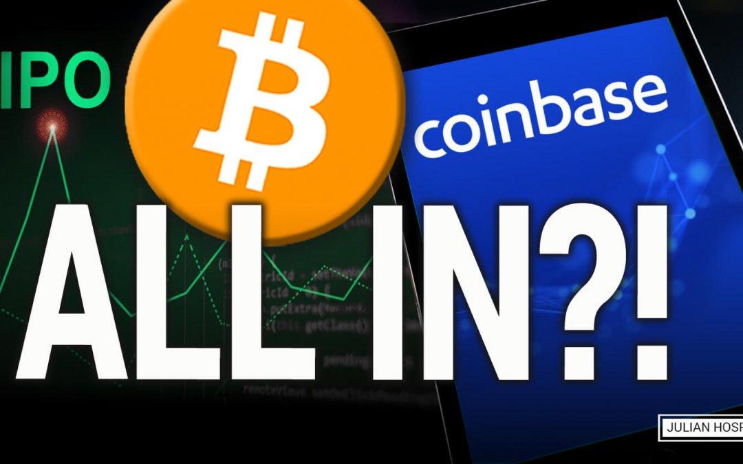 COINCIDENCE? Bitcoin All Time High & Coinbase IPO!