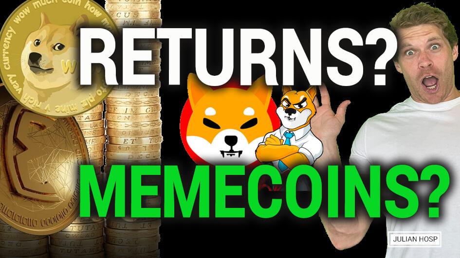 Insane Returns with MEME Coins?! Shiba Inu, Elongate, Doge, etc.