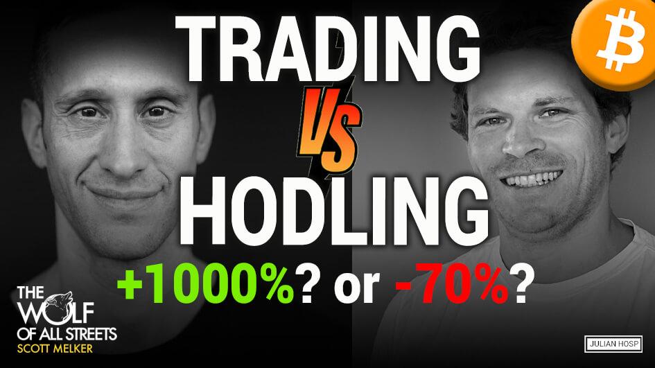 Bitcoin Trading better than HODLing?