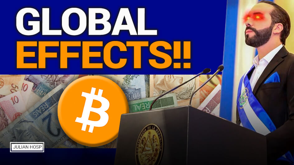 ATTENTION Global Ripple Effects! Bitcoin Legal Tender in El Salvador?