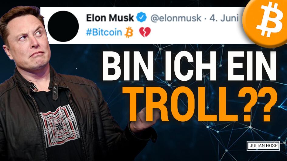 3 Wichtige Gründe Warum Elon Musk über Bitcoin twittert!
