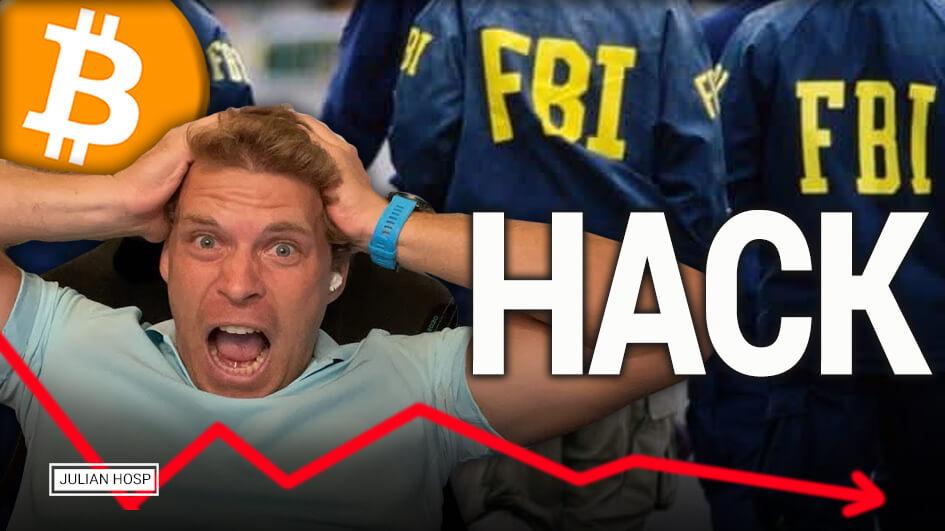 Bitcoin Crash durch FBI Hack?!