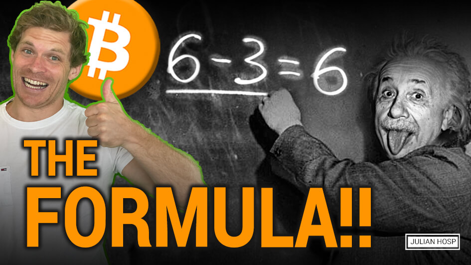The value formula – the most important formula for finance, economics, etc. – applied to Bitcoin!