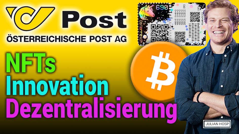 Post.at Blockchain Talk! NFTs, Innovation, Dezentralisierung uvm.