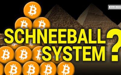 Ist Bitcoin ein Schneeballsystem?