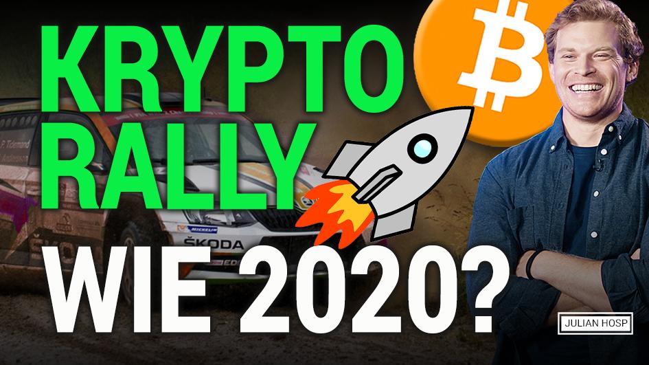 Krypto Rally 2021! Wiederholung von 2020?