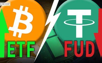 Bitcoin ETF vs Tether FUD (pump or dump??)